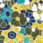 Colorful Floral Fabric - G..